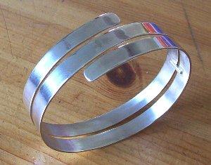 Zilver armband Lijn2