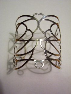 Zilver armband boven